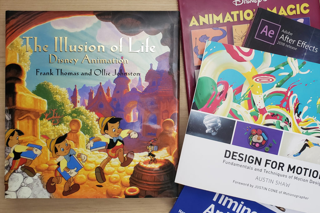 Books for Animators  - The Illusion of Life - Frank Thomas and Ollie Johnston